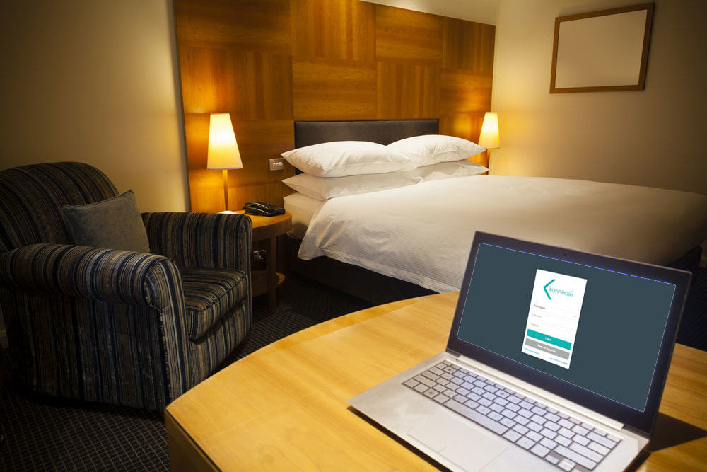 Guest access wifi for hotels